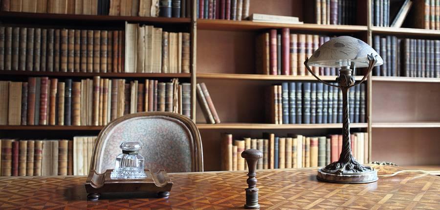 Bibliothèque de la Maison Losseau © P.Tombelle