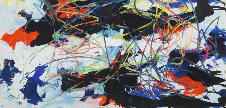 Karel Appel. Untitled