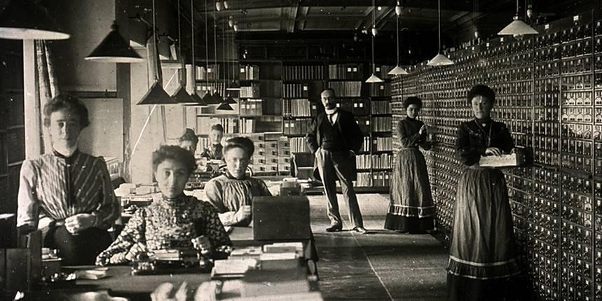 Employés du Mundaneum