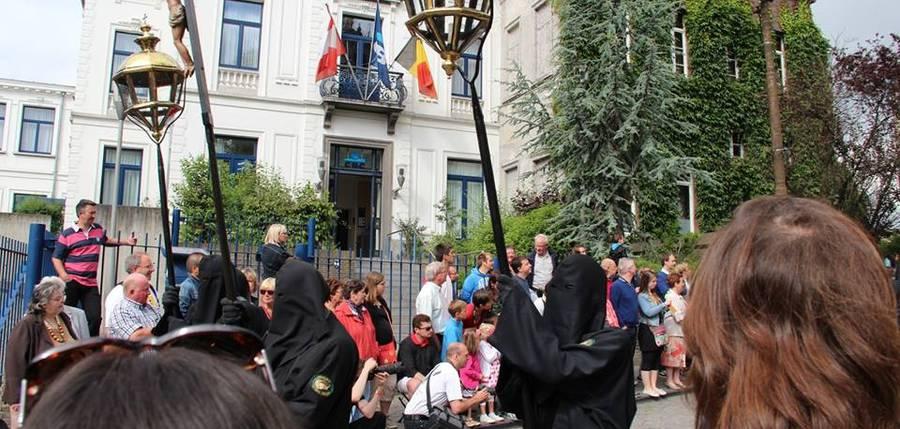 la procession