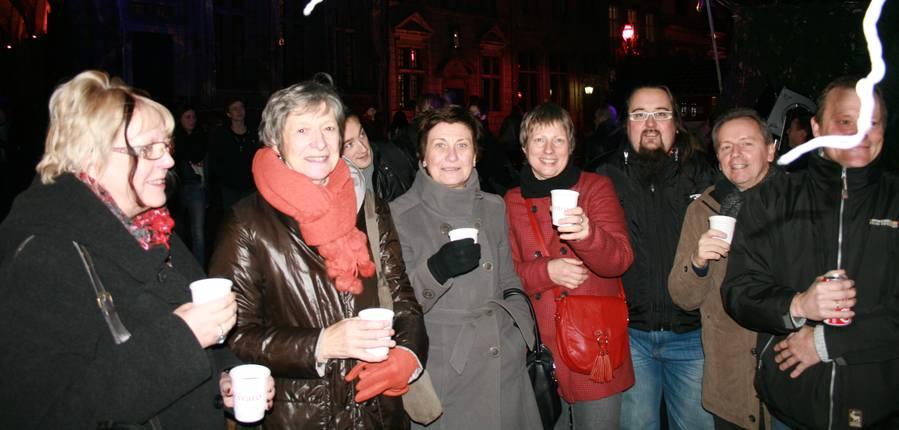 Marché de Noël Mons Coeur en Neige