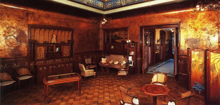 Intérieur de la Maison Losseau © Thill_s.a_bruxelles