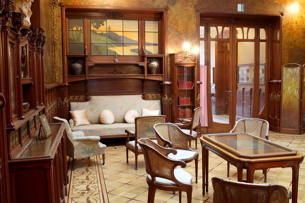 La maison losseau visitmons portail touristique for Voir decoration interieur maison