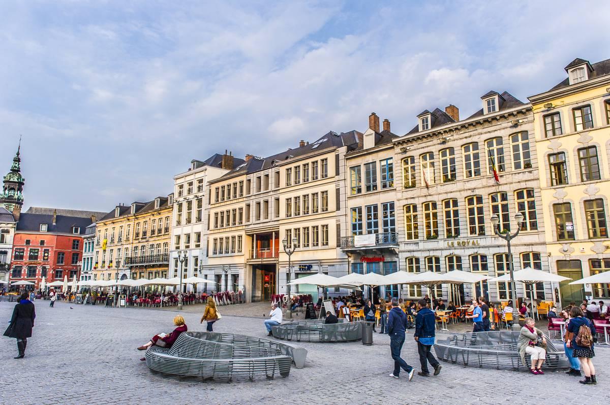 La Grand Place Visitmons Portail Touristique Officiel