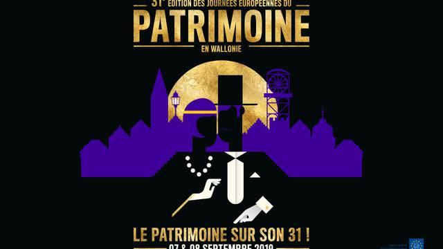 Journées du Patrimoine en Wallonie - Programme de la Maison du Tourisme de la Région de Mons