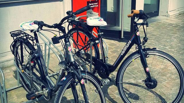 Location de vélos à visitMons