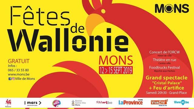 Fêtes de Wallonie à Mons