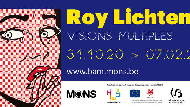 "Roy Lichtenstein ""Visions multiples""    Ouverture reportée"