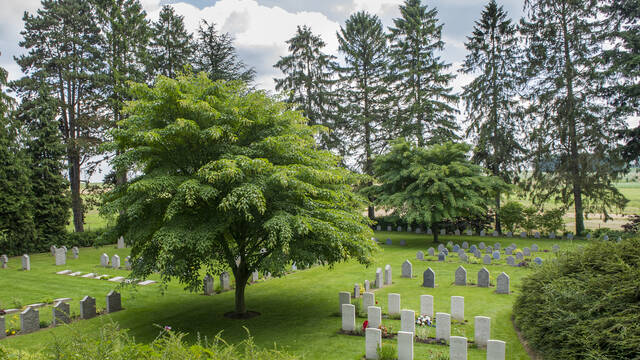 11. Le cimetière militaire de Saint-Symphorien