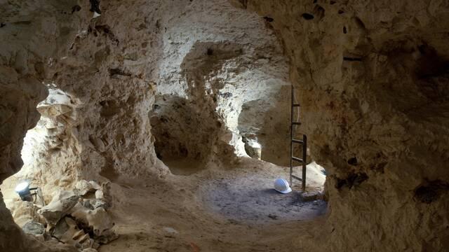 Incursion dans une mine de silex