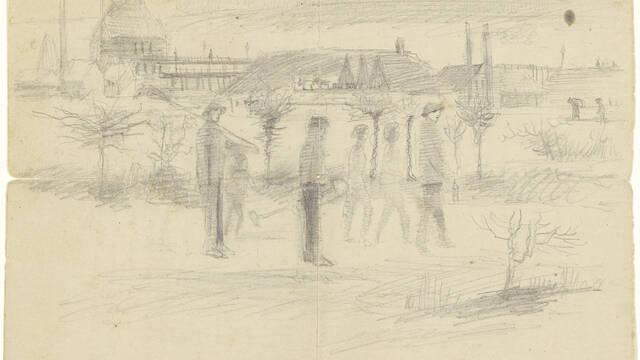 Retranscription d'une lettre à son frère Théo (août 1880)