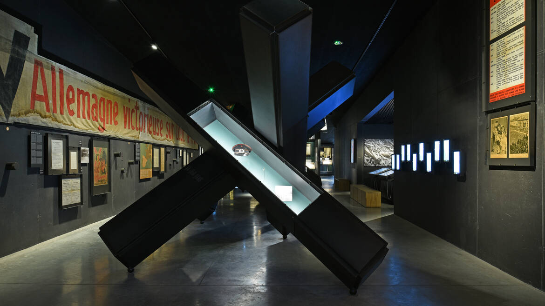1200 m² d'exposition permanente
