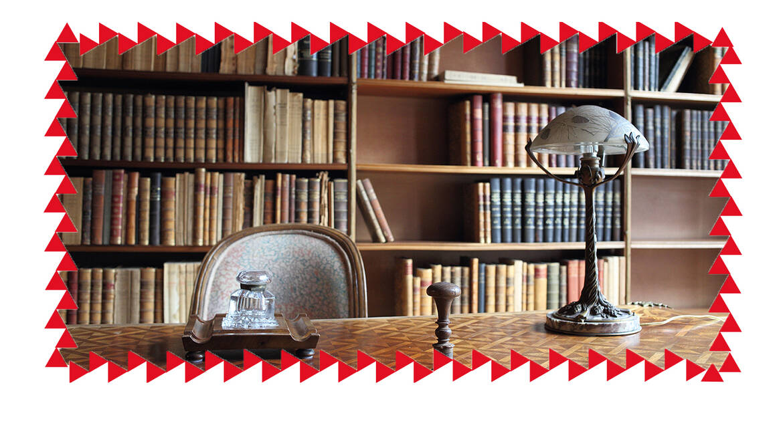 Maison Losseau, le coin lecture