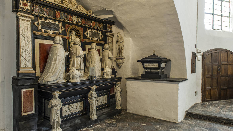 La chapelle funéraire des Seigneurs de Boussu