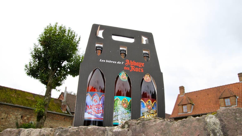La brasserie de l'Abbaye des Rocs, des bières naturelles ! (Honnelles)