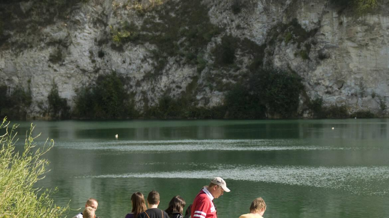 Un « lagon bleu » à Dour