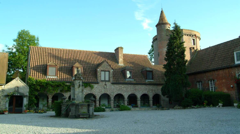 Le château d'Egmont à Herchies (Jurbise)