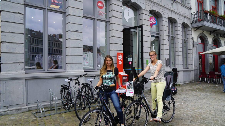 Louez un vélo et partez à la découverte de Mons et sa Région !