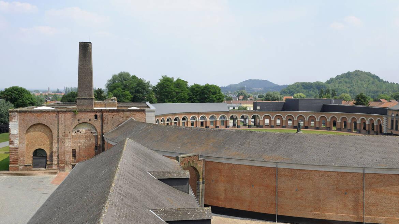 Site historique du Grand-Hornu, quand le charbon côtoie l'innovation et le design!