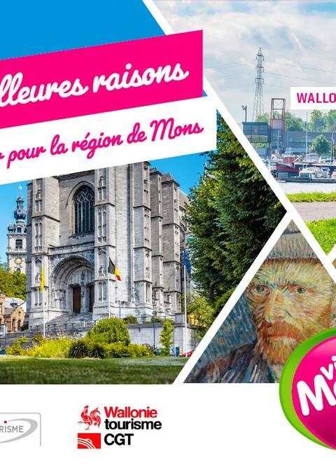 Les 10 meilleures raisons de craquer pour la région de Mons