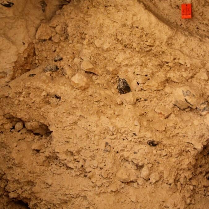 Un puits bouché, future zone de découvertes ?
