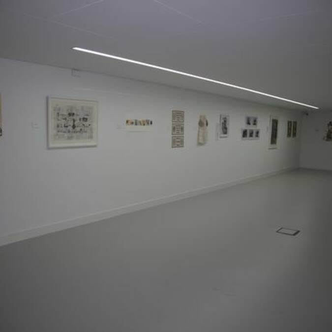 Salle d'exposition du BAM